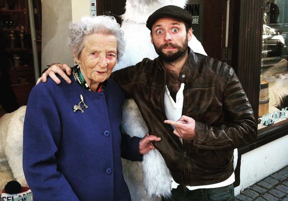 Visiting Granny at Christmas